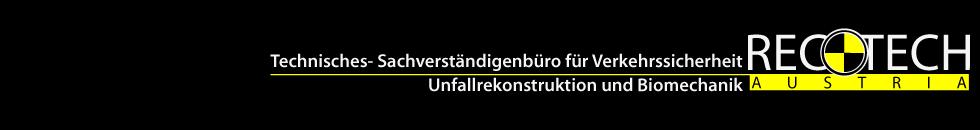 Reco-Tech GmbH – Unfallrekonstruktion, Sachverständiger und Unfallanalyse